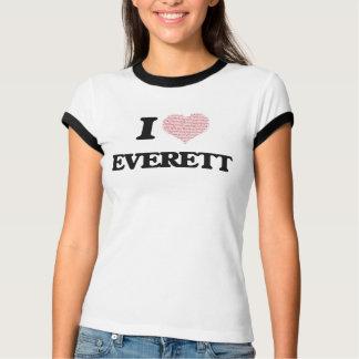 I Love Everett Shirts