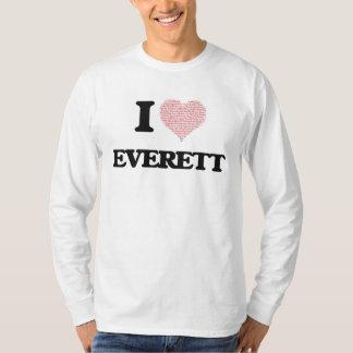 I Love Everett Tee Shirt