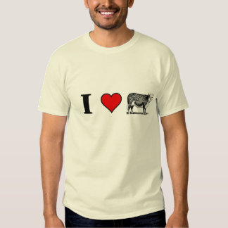 I love every part of the cow T-Shirt
