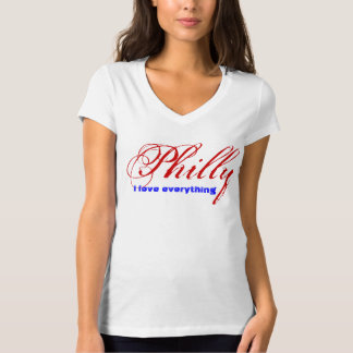 I love everything Philly T-Shirt
