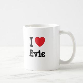 I love Evie heart T-Shirt Coffee Mug