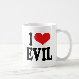 I Love Evil Coffee Mug