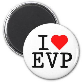 I love EVP 2 Inch Round Magnet