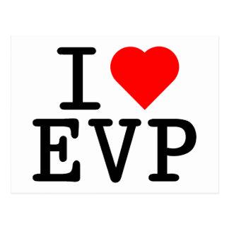 I love EVP Postcard