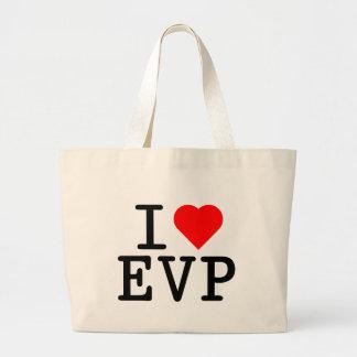 I love EVP Tote Bags