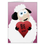 I Love Ewe Be Mine | Valentine Card
