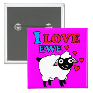 I love Ewe Button