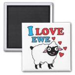 I love Ewe Magnet