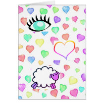 I Love Ewe! - Valentines Day Card