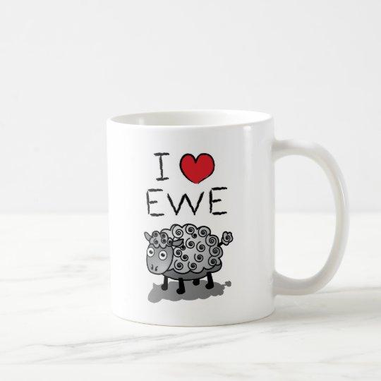 I Love Ewe! Valentines Day Coffee Mug