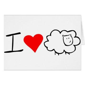I Love Ewe (you) Card