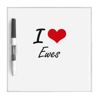 I love EWES Dry Erase Whiteboard