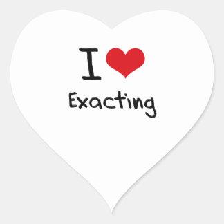 I love Exacting Heart Stickers