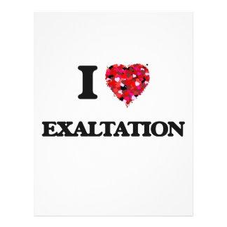"I love EXALTATION 8.5"" X 11"" Flyer"