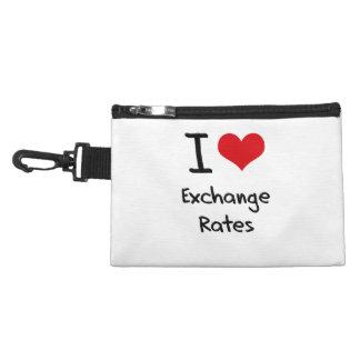 I love Exchange Rates Accessories Bag