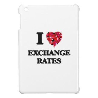 I love Exchange Rates iPad Mini Cover