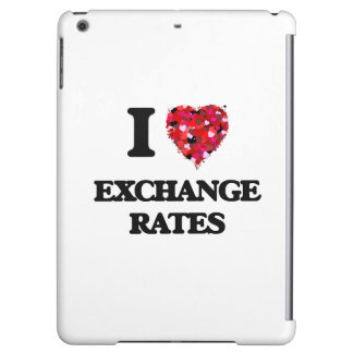 I love Exchange Rates iPad Air Cover