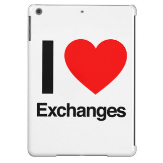 i love exchanges cover for iPad air
