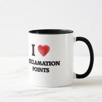 I love EXCLAMATION POINTS Mug