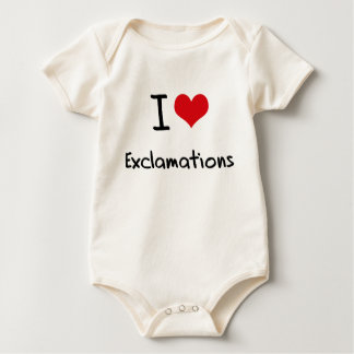 I love Exclamations Bodysuit