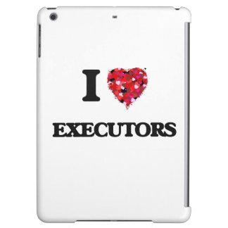 I love Executors iPad Air Cases