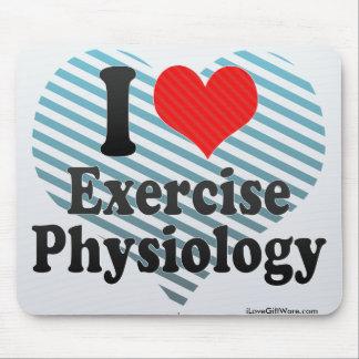 I Love Exercise Physiology Mousepad