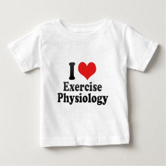 I Love Exercise Physiology Tshirt