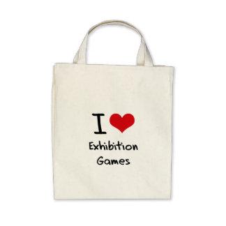I love Exhibition Games Bag