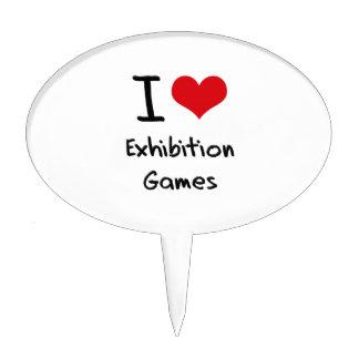 I love Exhibition Games Cake Pick
