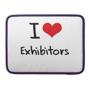 I love Exhibitors MacBook Pro Sleeves