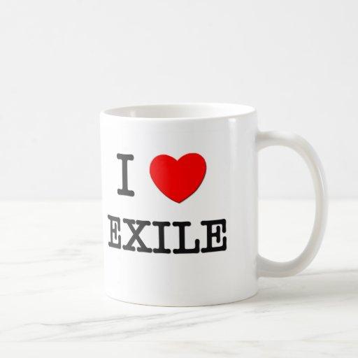 I love Exile Classic White Coffee Mug