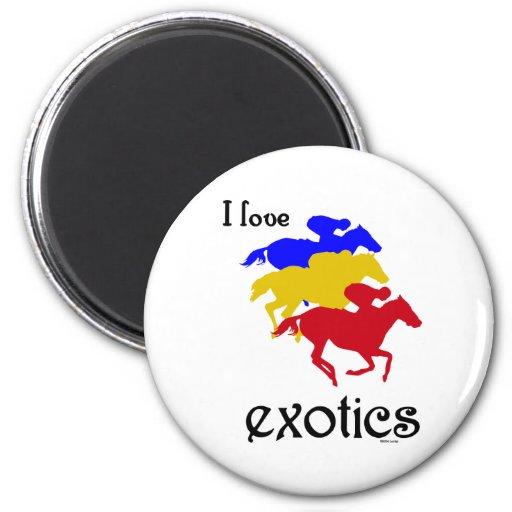 I Love Exotics Magnet