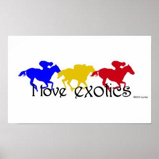 I Love Exotics Poster