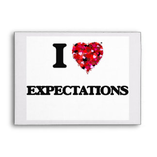 I love Expectations Envelope