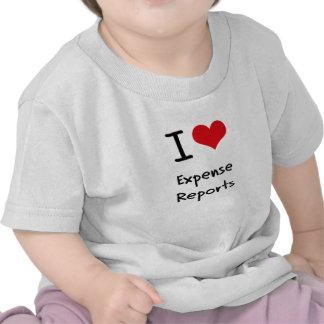 I love Expense Reports Shirt