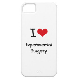 I love Experimental Surgery iPhone 5 Cases