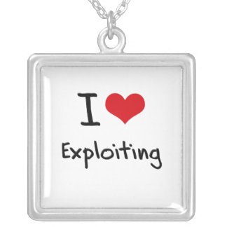 I love Exploiting Necklaces