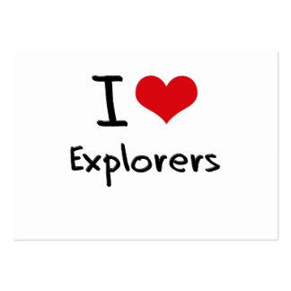 I love Explorers Business Cards