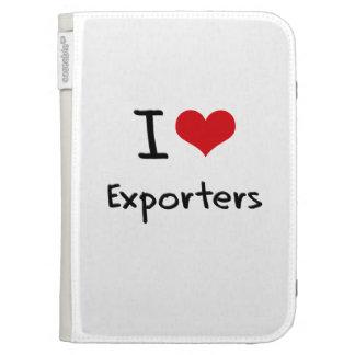 I love Exporters Kindle Folio Case