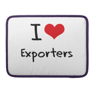 I love Exporters Sleeve For MacBook Pro