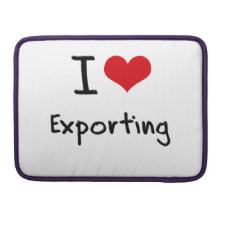 I love Exporting MacBook Pro Sleeves