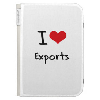 I love Exports Kindle 3 Cases
