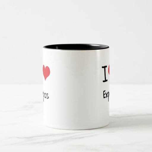 I love Expos Coffee Mugs