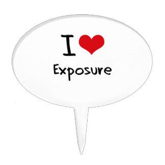 I love Exposure Cake Topper
