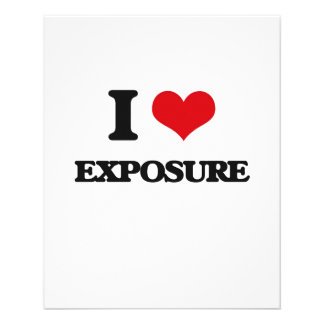 I love EXPOSURE Full Color Flyer
