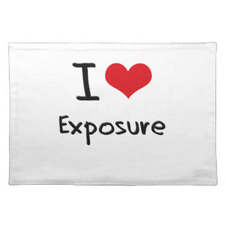 I love Exposure Placemats