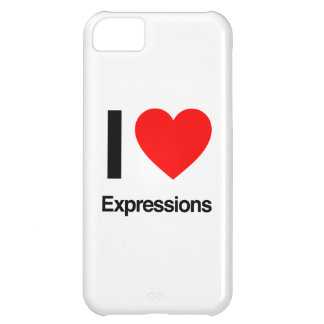 i love expressions iPhone 5C covers