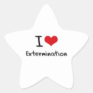 I love Extermination Stickers