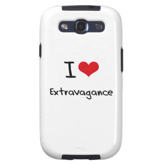 I love Extravagance Galaxy S3 Case