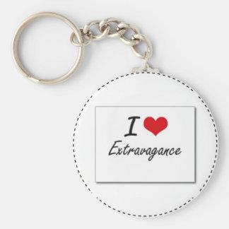 I love extravagance keychain